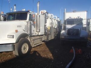 Vac truck Combo Unit for Sale