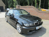 2005 (05) BMW 330i CI M SPORT AUTO 2 DOOR COUPE + FULL LEATHER