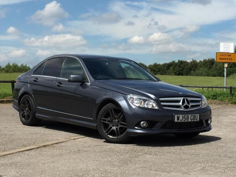 2008 mercedes benz c class 2 1 c220 cdi sport saloon 4dr diesel automatic 177 in mansfield. Black Bedroom Furniture Sets. Home Design Ideas