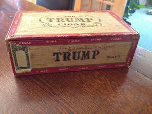 Boite de cigare TRUMP cigar box