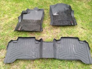 Full set of Weather Tech mats for Toyota Tacoma