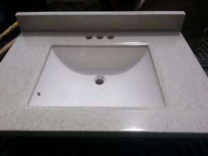 USED RSI All-in-One Vanity Top/ Sink