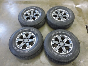 """NISSAN FRONTIER 16"""" RIMS AND TIRES, GOOD CONDITION"""