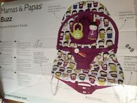 Mamas and papas buzz baby bouncer dolls