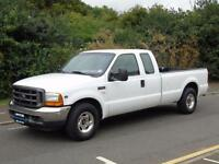2001 X FORD F 250 5.4 XL SUPERDUTY V8 TRITON SUPER CAB PICK UP WITH TAILLIFT