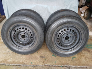 Tires and  Rims - Set of four (4) All Season Tires with Rims