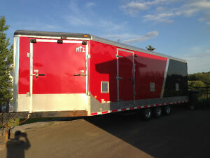 29 Foot enclosed trailer for sale