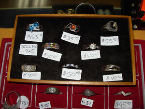 Large Selection of 925 Silver Rings Cambridge Kitchener Area image 2