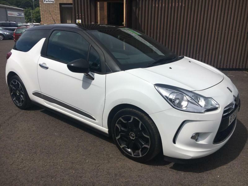 2011 Citroen Ds3 16e Hdi 90bhp Airdream Dstyle Plus White 3 Door