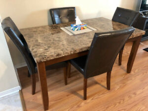Montibello 5 piece Dining Table Set - Only $500!
