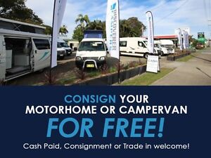 Free Consignment of all Campervans and Motorhomes