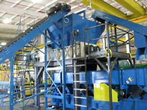 "TIRE RECYCLING MACHINE 2"" TDF CHIPS"