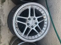 "Bmw ac schnitzer 18"" alloy can post"