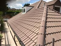 All roofing services.