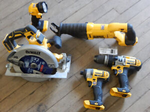 Cordless tools available at The 689r New and Used Tool Store