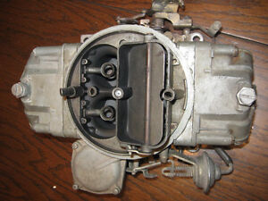 Holley Carb List 4801 1971 camaro z28 or corvette Lt1 motor