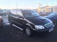 2006/55 Kia Sedona 2.9CRDi AUTOMATIC LONG MOT EXCELLENT RUNNER