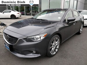 2015 Mazda 6 Mazda6 GT w/TECH! **ONLY 41,363KM!*CPO**