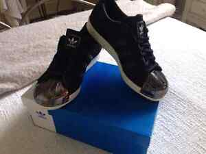 Chaussures authentique femme Adidas Superstar 80S Metal-Toe