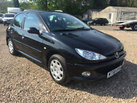 2009 58 Peugeot 206 1.4 Look **80k miles FULL SERVICE HISTORY**2OWNERS