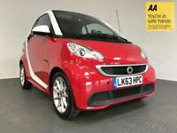 2014 63 SMART FORTWO 1.0 PASSION MHD 2D AUTO 71 BHP