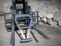 Wheel Loader, Skid Steer & Excavator Attachments Rentals & Sales