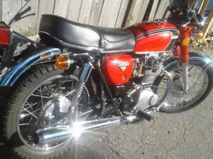 MUST SELL! PAY WAY UNDER MARKET VINTAGE '72 HONDA CB350!