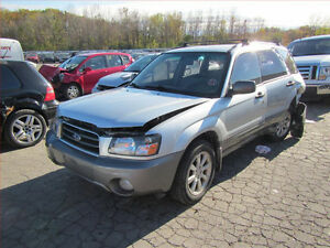 SUBARU (2001/2006/ FORESTR FOR PARTS PARTS PARTS ONLY)