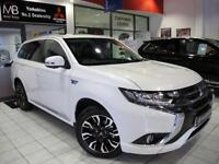 2015 MITSUBISHI OUTLANDER 2.0 PHEV GX4h 5dr Auto SAT NAV LEATHER BLUETOOTH