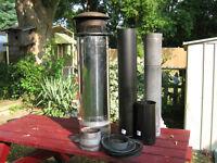 wood stove piping