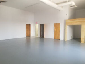 Space for Lease UPSTAIR LOCATION