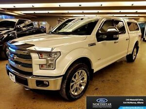 2015 Ford F-150 Lariat  - LEER CANOPY - $301.64 B/W - Low Mileag