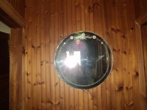 miroir biseauté circulaire