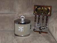 Ice Bucket & Bar accessories