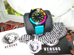LADIES VERSACE AND AIERS WRISTWATCHES / NEW