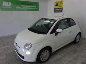 WHITE FIAT 500 1.2 POP DUALOGIC ***FROM £168 PER MONTH***