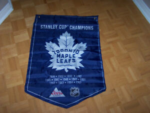Toronto Maple Leafs- New Coors Light NHL Banner- Stanley Cup