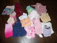 Huge lot of Girls Clothing - Size 12-18 months