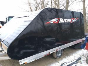 Triton Xt11-101 11' Aluminum Sled Trailer