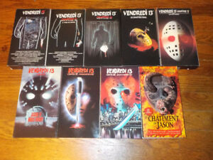 Vendredi 13 / Friday the 13th VHS collections MINT condition  Ve