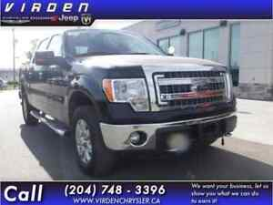 2013 Ford F-150 XTR Supercrew 4WD **LOCALLY OWNED!! CLOTH SEATS!