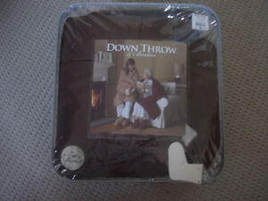 Down Throw Blanket & Booties Go-Anywhere Down Fill Ultra Warm