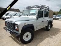 2013 62 LAND ROVER DEFENDER 110 DOUBLECAB PICK UP 2.2 TDCI 122 BHP ONLY 12,332 M