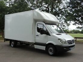 Man with van leeds large Luton with tail lift and a LWB van