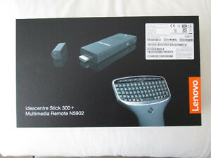 BRAND NEW LENOVO IDEACENTRE STICK PC WITH BACKLIT REMOTE