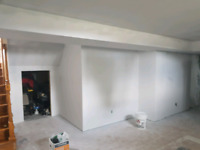Eperienced drywall taper