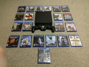 Ultimate PS4 Collection - 2 Terabyte System, Dozens of Games!