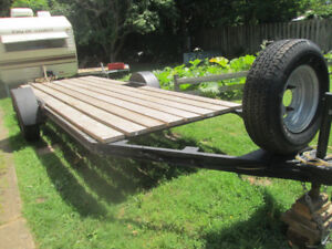 3x ATV / Flat Trailer 6 Feet by 16 Feet For Sale