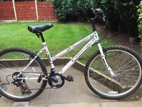 ladies british eagle mountain bike hardly used