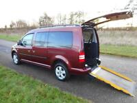 2013 Volkswagen Caddy 1.6 Tdi *7 SEATS* WHEELCHAIR DISABLED ACCESSIBLE ADAPTED